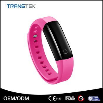 Customized Color Fitness Tracker Heart Rate Smart Wristband