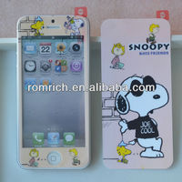 Cute Cartoon Dog Screen Protector For Apple iPhone 5 5G