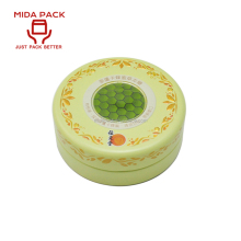 Round shape colored bulk small mint metal tins in china
