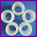 white silicone ripple tube_high tear resistance