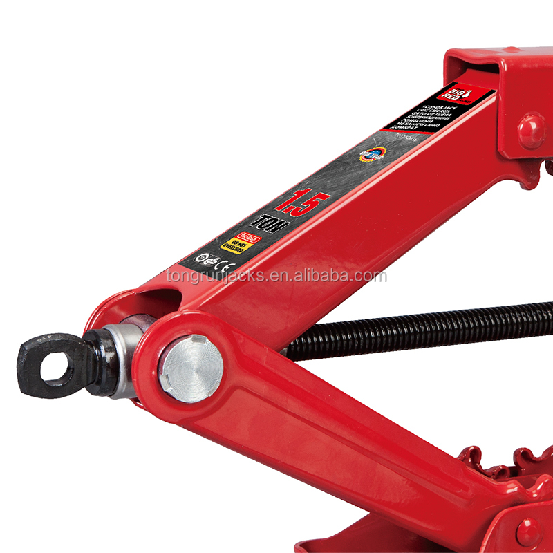 1.5 Ton Scissor Jack  easy carry  manual lab scissor jack with car  T10152-GS
