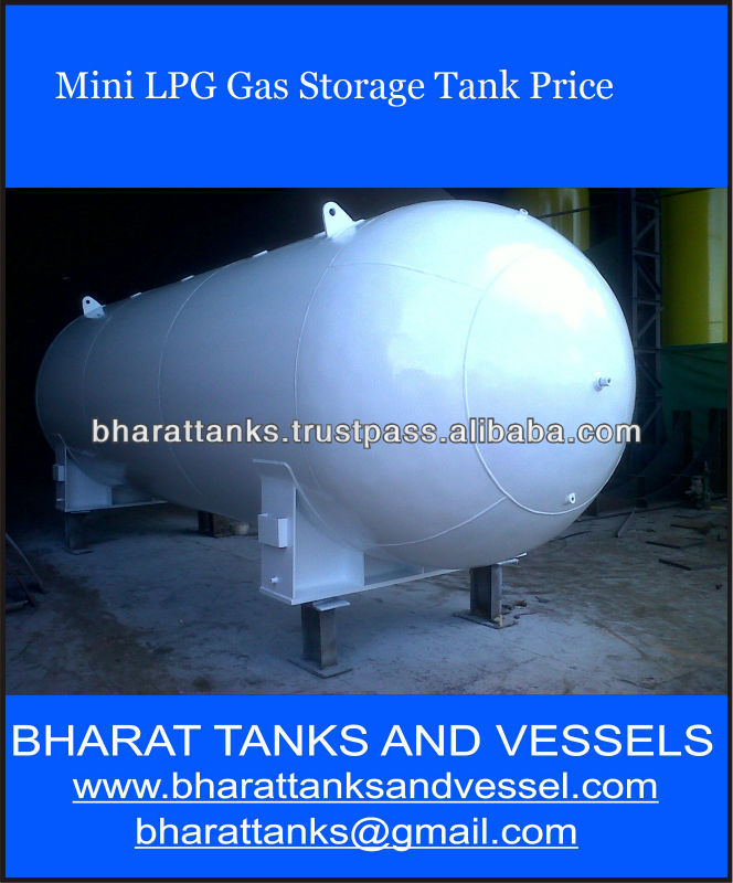 """Mini LPG Gas Storage tank Price"""