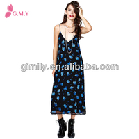 full lenght house vintage dress for lady