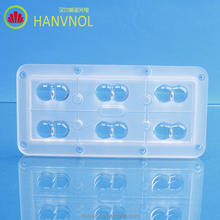 HANVNOL oem PMMA street light module lens retrofit kit for cree smd led light(NOT FOR SALE)