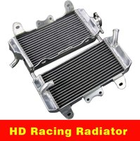 ATV Motocross Bike Motorcycle Aluminum Radiator For Suzuki RMZ450 2005