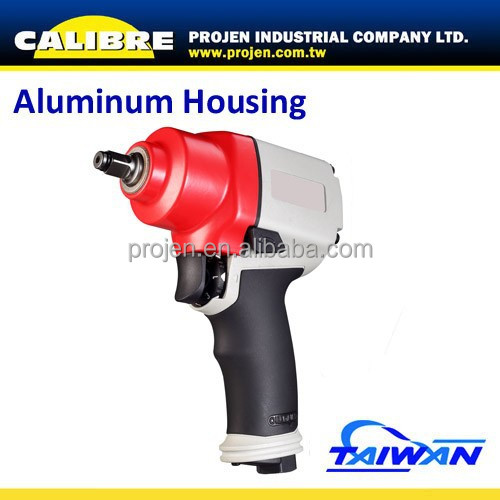 "CALIBRE Super Duty Twin Hammer Mechanism Aluminum 3/8""dr air Impact Wrench"