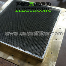 600x600mm, steel EMI Honeycomb filter for shielding room with emi shielding box shield material in honeycombs