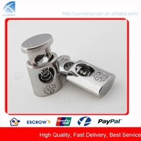 CD2086 Custom Cord Stopper Metal Spring Toggle with Logo