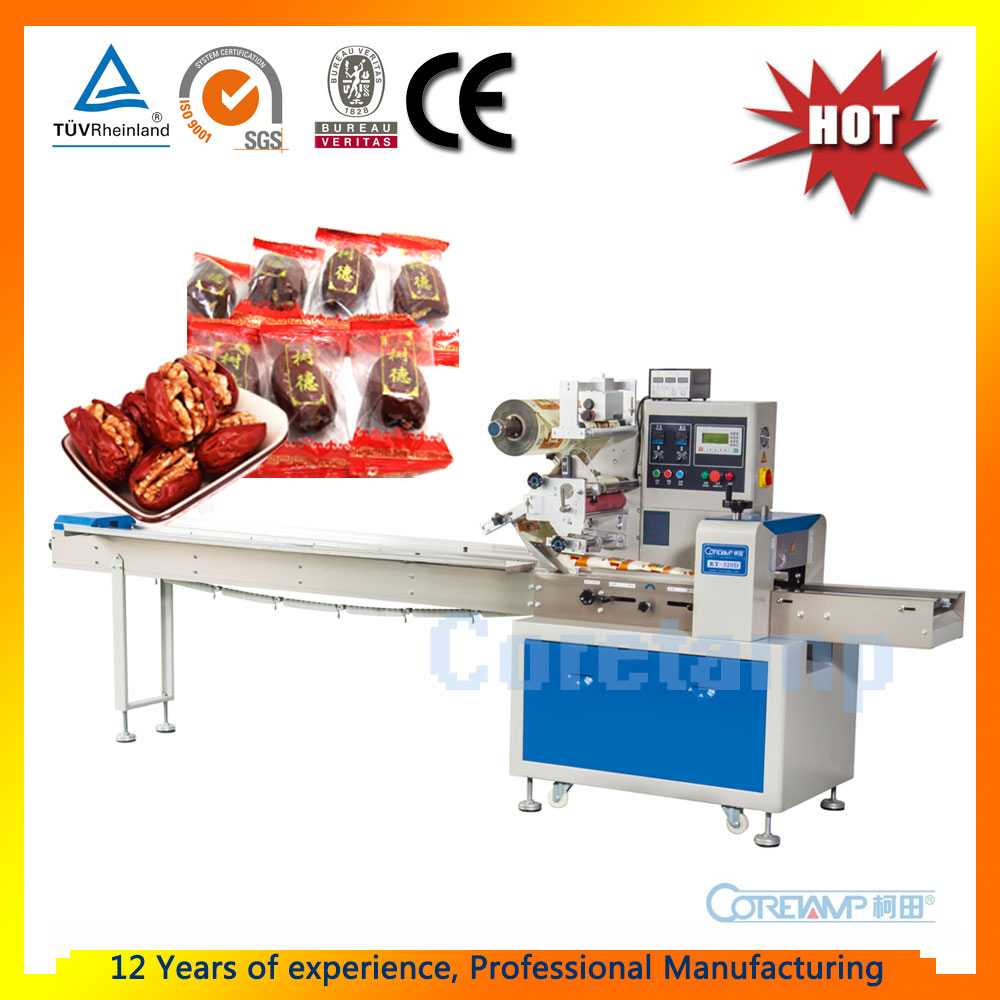 Model KT-250 Flow Automatic Dried Dates Packing Machine