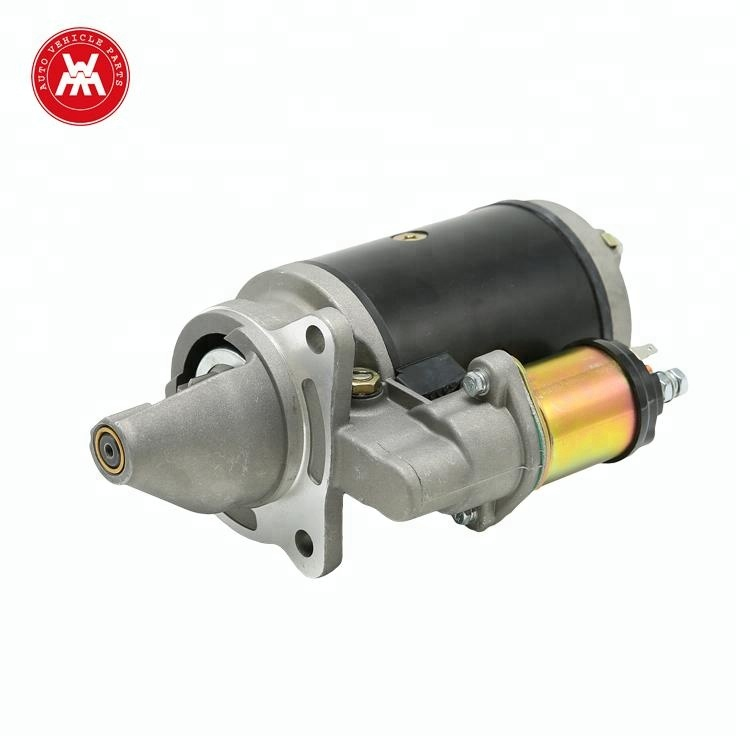 WMM Brand Name of Parts of Tractor Starter Generator Electric DC Brushes 24 volt Starter Motor For Massey Ferguson 135, 240
