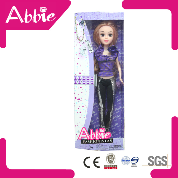 Abbie 11.5 inch Fashion Beautiful Girl Doll Manufacturer China