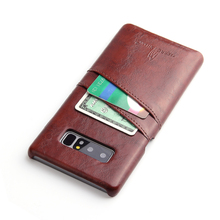 Phone covers for samsung note8, oil wax leather phone case for samsung note8