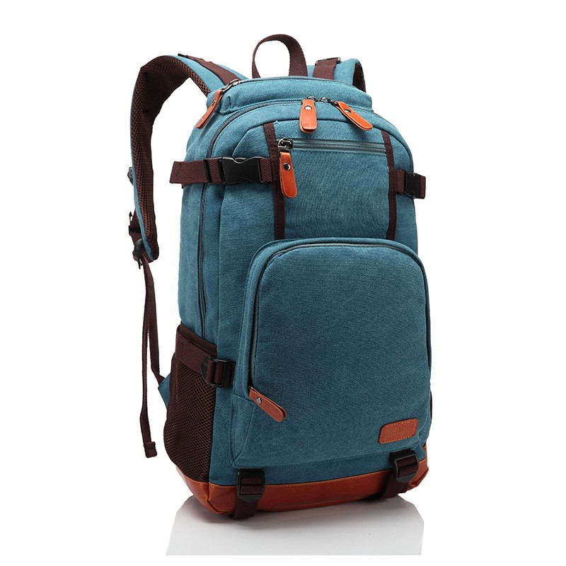men women vintage canvas backpacks canvas and leather backpack canvas backpacks female