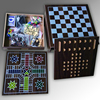 High Quality 10 in 1 chess game set Wooden chess game set