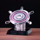 Design Crystal Trophy Free,Trade Assurance Custom Rudder Crystal Trophy (MYCT-080)