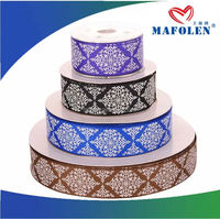 High Quality Fashion Accessory Paper Bag Ribbon Embroidery Cushion