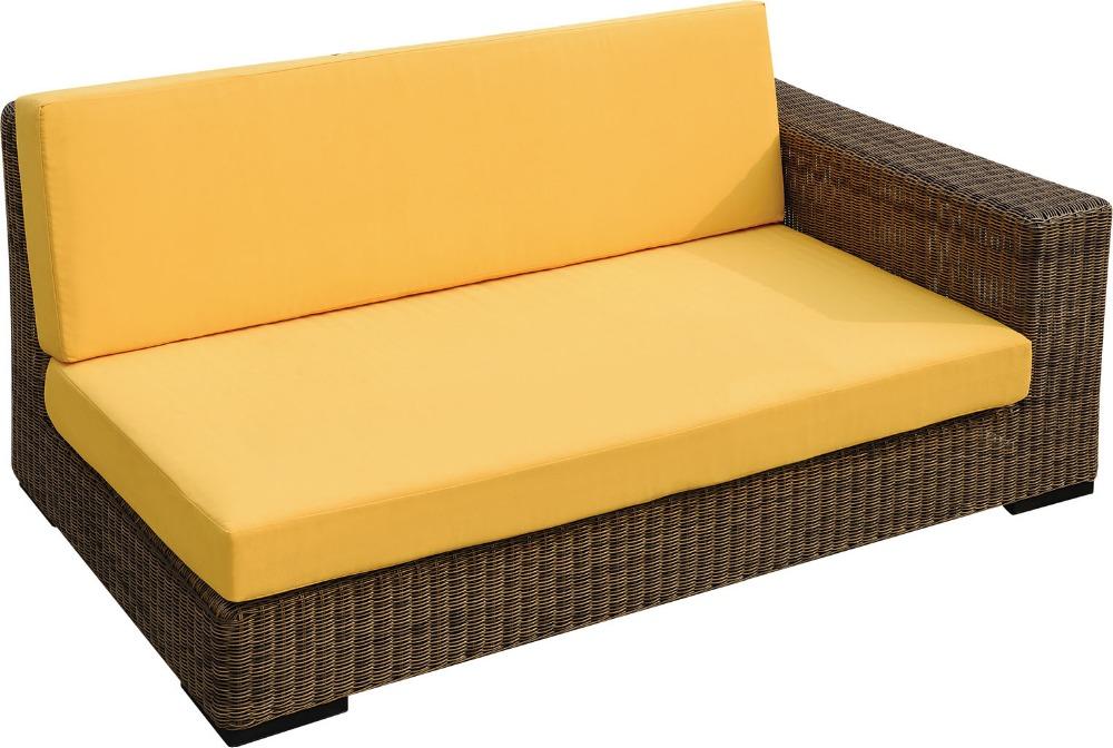 Gartenmobel Sofa Lounge : Schön rattan gartenmöbel sofa mit kissenRattan  KorbsofaProdukt