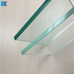 high hardness clear safety tempered glass sheet for sale