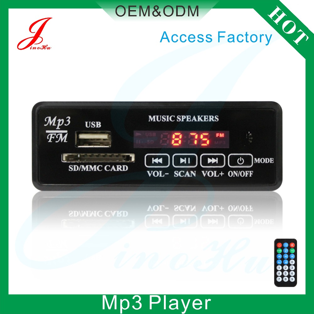 JLH High Quality Audio Receiver PCB Radio FM USB Mp3 Module Amplifier Circuit Board 12V 5V For China