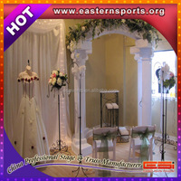 Outdoor Stage Decoration Wedding Pipe And