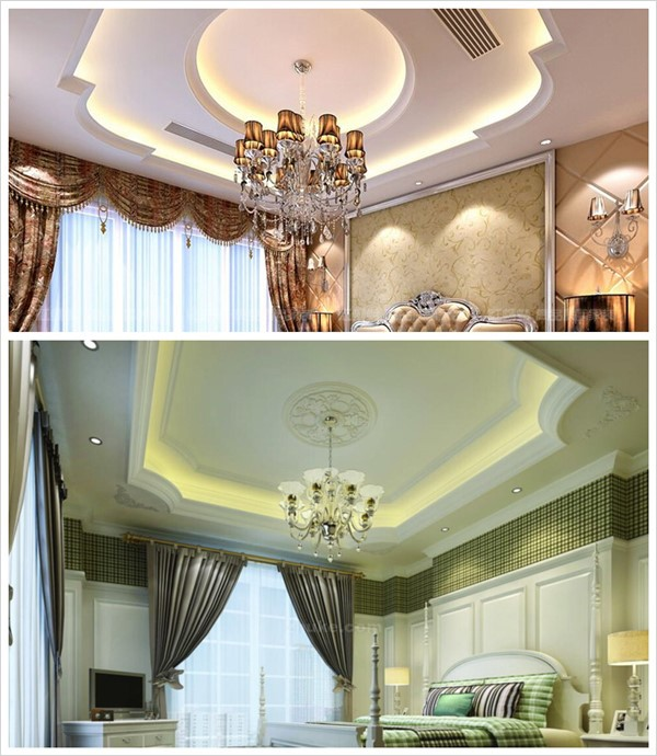 High Quality Building Material Ceiling Wall Decoration Gypsum Plaster Light Trough Corner Beading