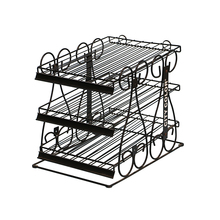 Alibaba store from china customized metal nail polish racks display