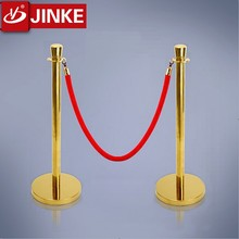 Customized Queue Rope Post Barricade Pole Railing Stand