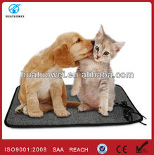 Small heated pet blankets for dogs and cats warming
