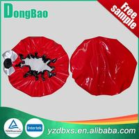 For bathroom use colored ear shower cap