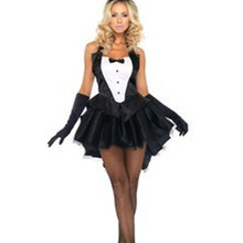 Sexy Erotic Cosplay Costume Swallow Tail Rabbit Uniform Temptation