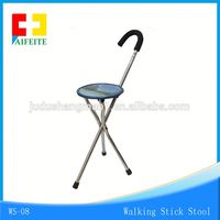 Plastic smart cane outdoor walking stick with CE certificate