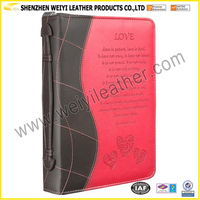 Wholesale Promotion Factory Direct Professional Stylish Multifunctional Fahion Cheap Bible Covers Made in China