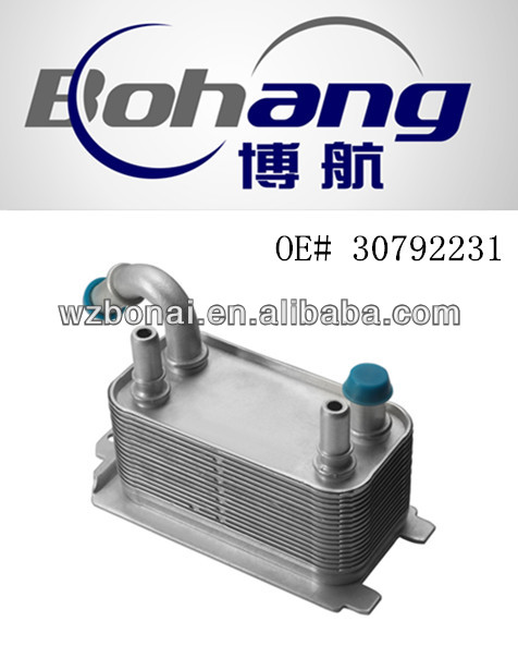 High Quality Oil Cooler For Volvo xc70 v70 s80 xc60 30792231