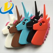 Creative cute horse mobile unicorn phone cover case for 6/6s/6plus