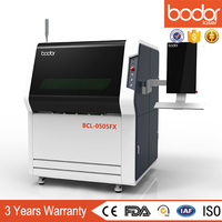 Aluminum / carbon steel /stainless steel small fiber laser metal cutting machine 500W