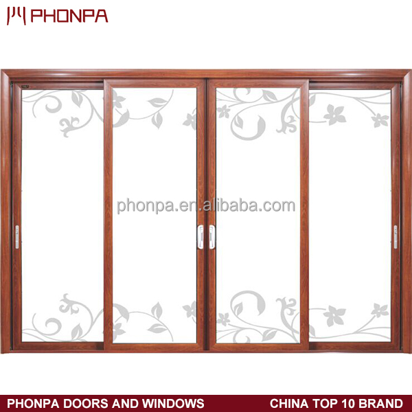 Large Sliding Glass Doors 4 Panel Sliding Glass Door