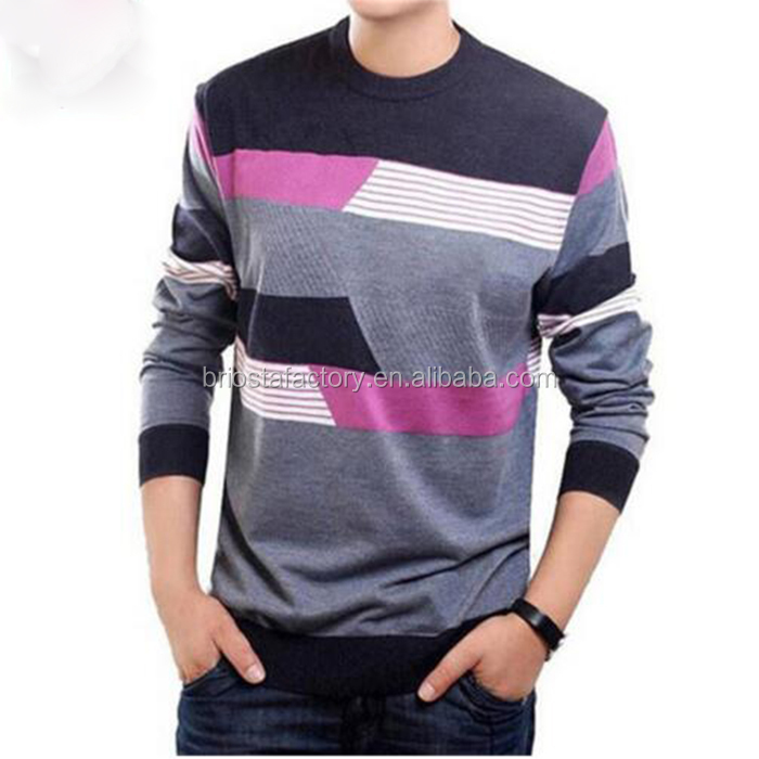 Wholesale New Design Cotton Sweaters