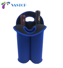 Wine Carrier Tote Bag Insulated 2 Bottle Carrying Bag Cooler