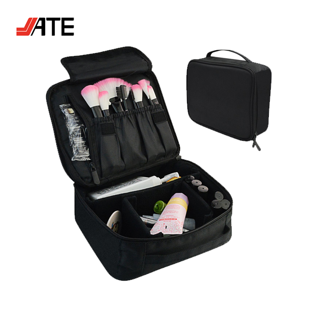 Portable Makeup Train Case, Waterproof Makeup Organizer Cosmetic, Professional Travel Makeup Organizer