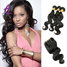 Wholesale suppliers 7A Grade Raw unprocessed Virgin Human hair weave Cuticle intact Crochet hair extension