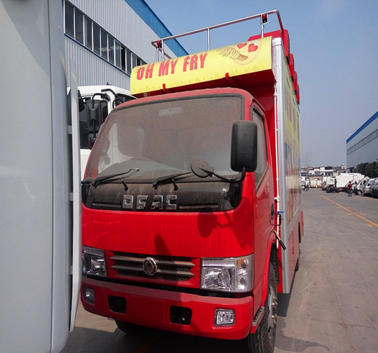 Multifunctional fast food truck/Fast food vehicle/Food car for sale