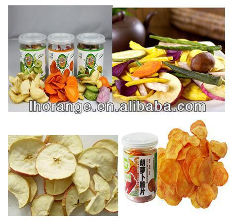 Good quality and high efficiency Fruit and Vegetable Chips Processing Line/Production line