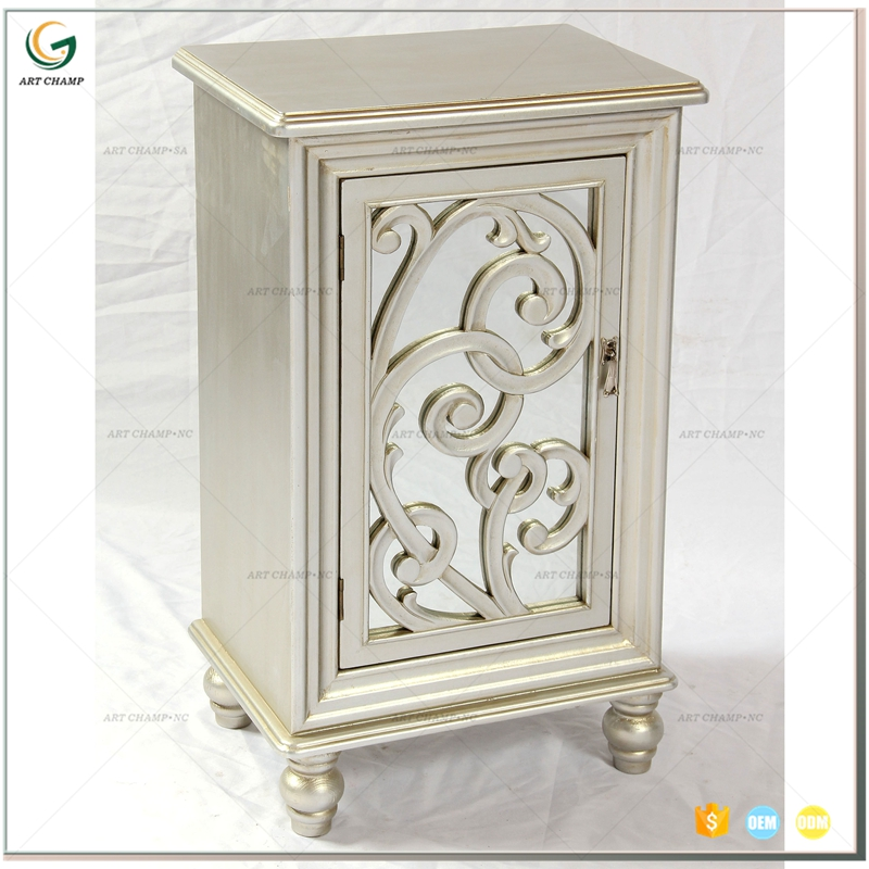 bedroom furniture wooden cosmetic display cabinet and showcase