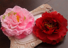 Names of flowers used for decoration wholesale giant peony artificial flowers