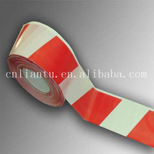 VINYL FLOOR STRIPED SAFETY WARNING MARKING TAPE
