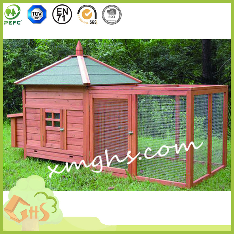 Wood Pet chicken House/Rabbit Hutch Coop