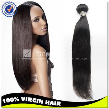 Unprocessed straight virgin remy indian human hair