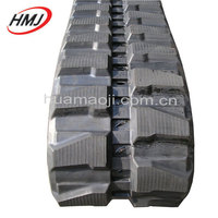 high quality synthetic rubber track for excavator