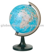5.6 inches or 14.2cm in school of globe map