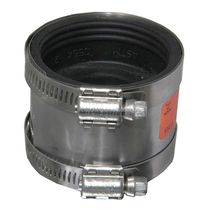 New Product 2 Inch D Type Deducing Underground Engineering Flexible Rubber Coupling with Flange